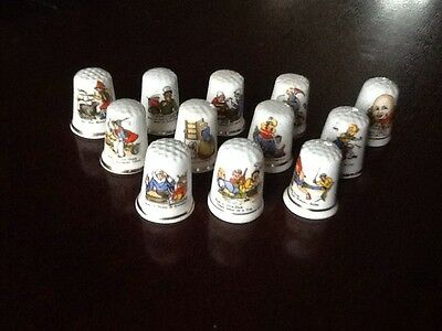 Collectable Nursery Rhyme Thimbles