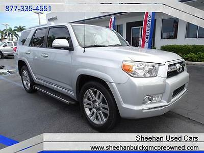 2012 Toyota 4Runner  2012 TOYOTA 4 RUNNER MINT CONDITION FL DRIVEN LIMITED SUNROOF LEATHER NAVI