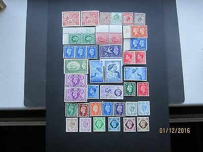 Gb Stamps - General Mint Accumulation - George V To George V1
