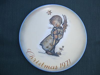 Hummel 1971 Limited Edition Christmas Plate
