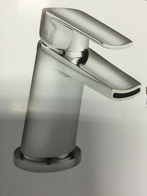 Linn Mono Basin Mixer Lever Action, Solid Brass Highly Polished 3 Layer Pvd Mirr