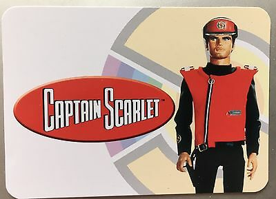 Unstoppable Cards Captain Scarlet Complete 54 Card Proof Set Of The Basic Set