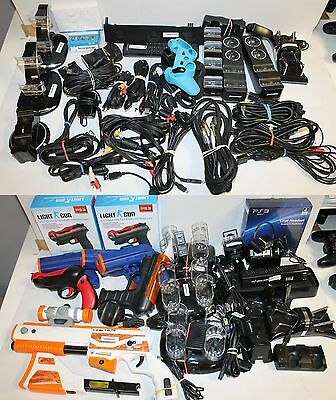 Mixed AS IS Playstation 3 / PS3 Accessory Lot  - Parts / Repair