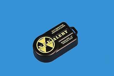New! NukAlert Portable Detection Nuclear Radiation Detector Monitor 10YR Battery
