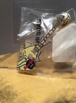 Hard Rock Cafe Guitar Pin -  1999 Miami Trigger Fish Catalog # 5784 - Ships Free
