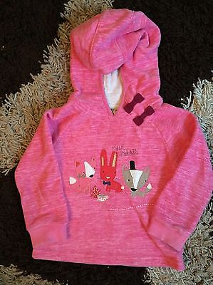 Next Girls Hooded Top Size 2/3
