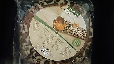 Zoofari Cat tunnel - Tiger Pattern with Toys