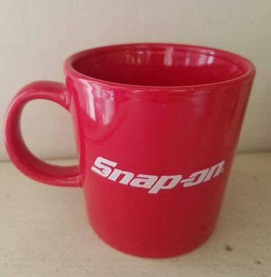 Red & White Snap On Tools Coffee Mug Cup