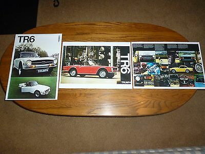 3 Triumph ad reproductions