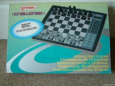 Systema Challenge RISC Style Technology CHESS SET computer electronic 5T-938