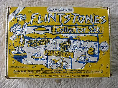 The Flintstones Marx Vintage Collectable Ruby Edition Collector Play Set 1991