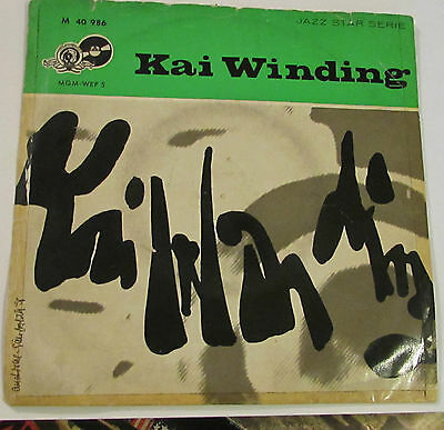 "Kai Winding  Perdido   7""  Jazz Ep Germany Rare"