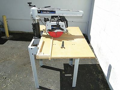 ​Delta RS830 Shopmaster Radial Arm Saw with Stand 110v 220v Will Ship