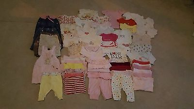 Baby Girls Clothes-Bundle-0-3-Months