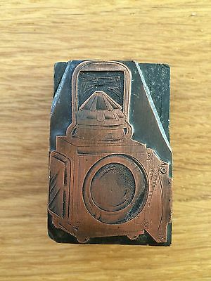 Traction Engine Lamp Copper printing Block