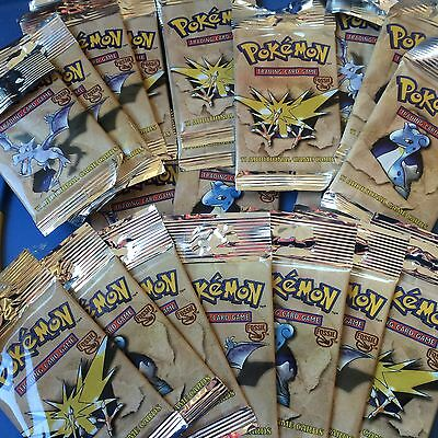 POKEMON SEALED FOSSIL BOOSTER PACK One (1) Pack