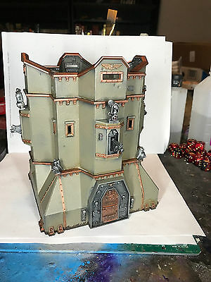 Warhammer 40k Imperial Bastion Painted Space Marine Games Workshop GW