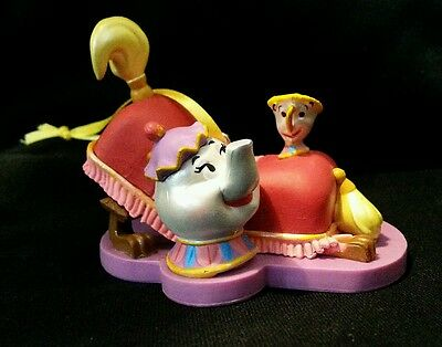 New Disney Beauty and the Beast Mrs. Potts Chip Teacup Christmas Ornament
