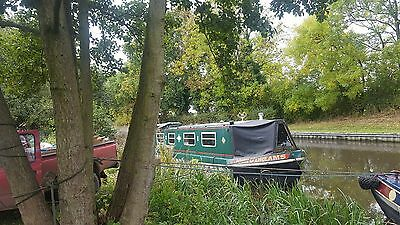 NARROW BOAT 38 FT Narrowboat Unfinished project boat