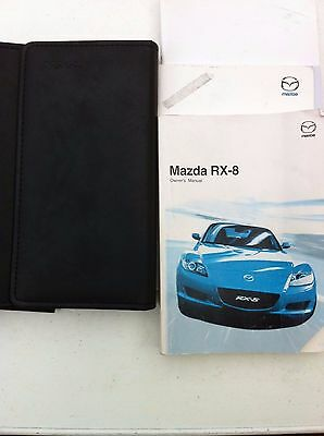 Mazda Rx8 1St Gen Owners  Manual / Handbook / Wallet Set 2003 - 2008