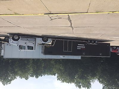 Pace Shadow 42 ft race trailer with Freightliner Sportchassis 4 dr tow vehicle