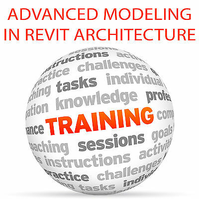 Advanced Modeling in REVIT ARCHITECTURE - Video Training Tutorial DVD