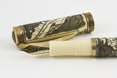 VISCONTI AMERIGO VESPUCCI LIMITED EDITION OF #480 of 500 FOUNTAIN PEN