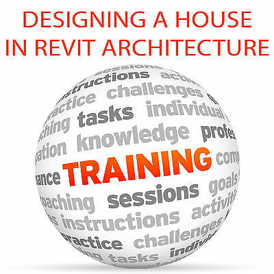 Designing a House in REVIT ARCHITECTURE - Video Training Tutorial DVD