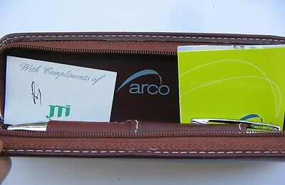 Vintage Box With  2 Ball Point Pens By Arco Selection
