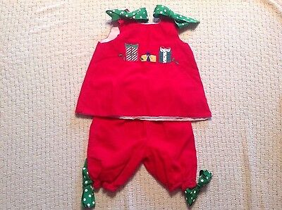 The Bailey Boys Christmas outfit 24 months