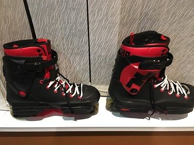 UK12 shifty sifika red and blck (used)