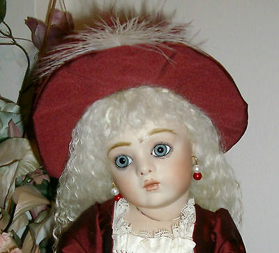 41cm PRETTY FRENCH BRU JNE 11 ANTIQUE REPRODUCTION DRESSED BEBE
