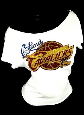 Cleveland Cavaliers! RawedgeTerry Lt.Weight Jersey Dolman Tee ~ Shiny Lettering!