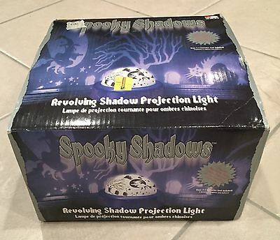 Spooky Shadows Revolving Shadow Projection Light Frosted dome cast shadows