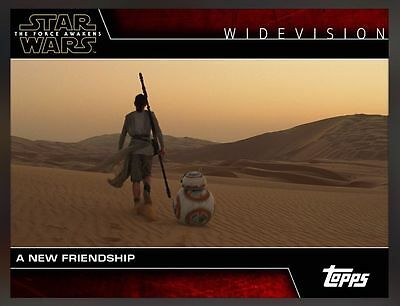 WIDEVISION A NEW FRIENDSHIP Topps Star Wars Card Trader Digital
