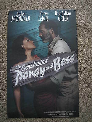 The Gershwins Porgy And Bess Broadway Poster Richard Rodgers Theatre