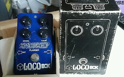 RARE! 1970's Locobox Spaceship Flanger. BOXED