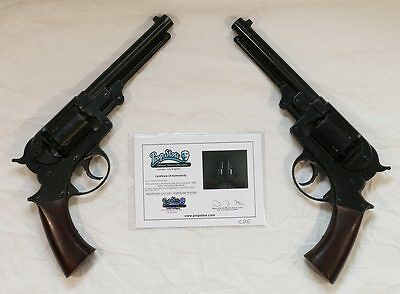 Abraham Lincoln Vampire Hunter Official Stunt Pistols w/ COA from The Prop Store