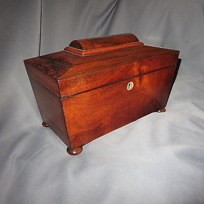 A FINE QUALITY LARGE 19th CENTURY VICTORIAN ROSEWOOD TEA CADDY