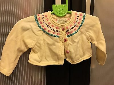 Baby Girls 3-6 Months Cardigan From Mamas And Papas