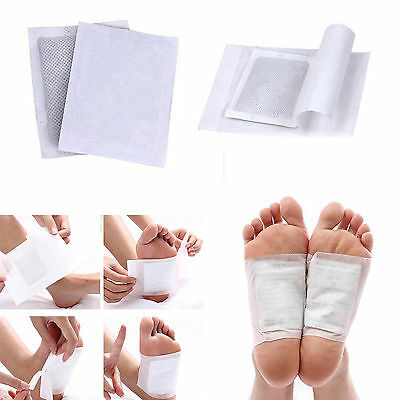 3x Good Detox Foot Pads Patch Detoxify Toxins Adhesive Keeping Fit Health Care