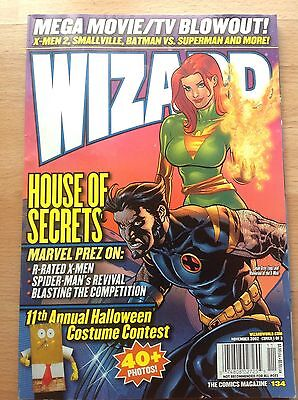 Wizard The Comics Magazine No. 134 From The USA