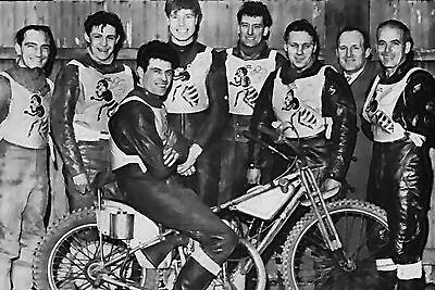 Coventry Bees 1962 Speedway Team Photograph
