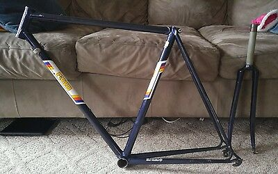 Dave Moulton Fuso FR1 Handmade Steel Columbus Road Bicycle Frame and Fork