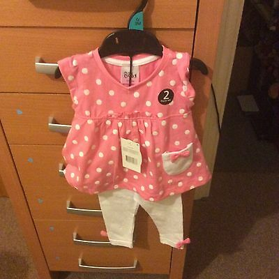 Baby set top and leggings age 0/3mths