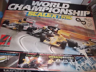 Scalextric World Chamionship Boxed