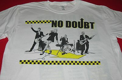 New! NO DOUBT North American Summer Tour 2009 T - Shirt Adult M or XL