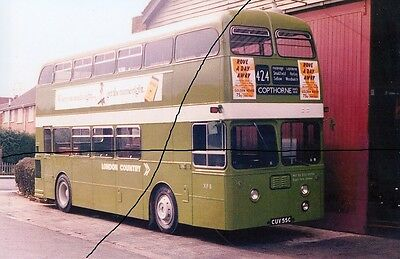 Bus Photo Of A London Country Photograph Picture Of A Daimler Fleetline Vintage.