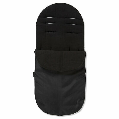 Footmuff / Cosy Toes Compatible with Bugaboo Bee Cameleon DonKey Buffalo Black