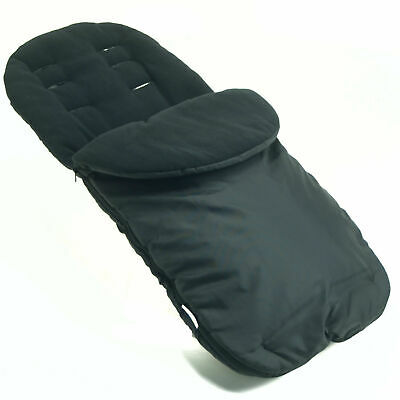 Footmuff / Cosy Toes Compatible with Bugaboo Black